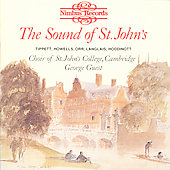The Sound of St. John's - Tippett, Howells, Orr, etc / Guest