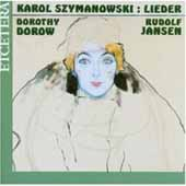 Szymanowski: Des Hafis Liebeslieder, etc / D Dorow, R Jansen