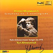 Shostakovich: Symphony no 7 / Yuri Ahronovitch, et al