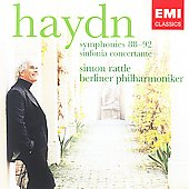 Haydn: Symphonies no 88 - 92, etc / Rattle, Berlin PO