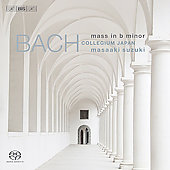 Bach: Mass in B minor / Suzuki, Sampson, Blaze, Kooij, et al