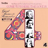 Ronnie Aldrich: Come to Where the Love Is / Great Themes to Remember