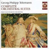 Telemann: Orchestral Suites / Pratum Integrum Orchestra