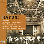 Haydn Editions - Concertos / Koopman, Alain, Entremont, et al