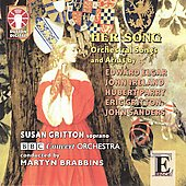 Her Song - Orchestral Songs and Arias / Susan Gritton, Martyn Brabbins, BBC Concert Orchestra