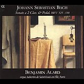 Bach: Trio Sonatas for Organ / Alard