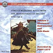 Various Artists: Tibetan & Bhutanese Folk Music, Vol. 4
