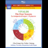 Vivaldi: The Four Seasons / Anthony Newman [Blu-ray audio]