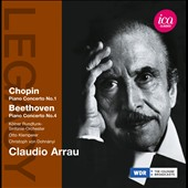 Chopin: Piano Concerto No. 1; Beethoven: Piano Concerto No.4 / Claudio Arrau, piano