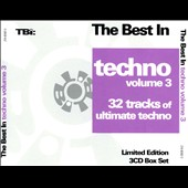 Various Artists: The  Best in Techno, Vol. 3 [Box]