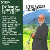 The Trumpet Comes of Age 1940-1980 / Louis Ranger