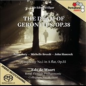 Elgar: The Dream of Gerontius, Op. 38; Symphony no 1, Op. 55 / Peter Auty; Michelle Breedt; John Hancock