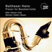 20th cent. Pieces for Bass Clarinet / Balthasar Hens, bass clarinet