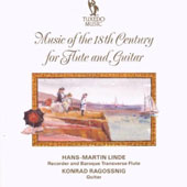 Music of the 18th Century for Flute & Guitar / Hans-Martin Linde, flute; Konrad Ragossnig, guitar