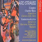 R. Strauss: Complete Chamber Music Vol 9 - Piano Trios, etc