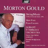 Gould: Showpiece, Piano Concerto, etc / Miller, Albany SO