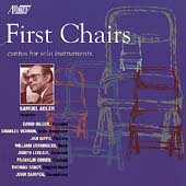 First Chairs - Adler: Cantos for Solo Instruments
