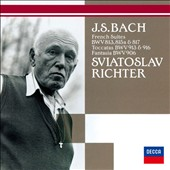 J.S. Bach: French Suites BWV 813, 815a & 817; Toccatas BWV 913 & 916; Fantasia BWV 906