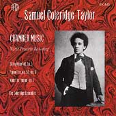 Coleridge-Taylor: Chamber Music / The Coleridge Ensemble