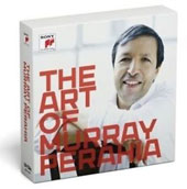 The Art of Murray Perahia - Concertos & Sonatas by Mendelssohn, Bartok, Beethoven, Mozart, Schubert, Beethoven, Chopin, Schumann, J.S. Bach [10 CDs]