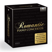 Romantic Piano Concertos [40CD]