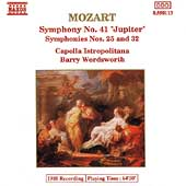 Mozart: Symphony no 25, 32 & 41 / Barry Wordsworth