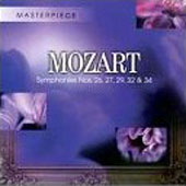 Mozart: Symphonies no 26, 27, 29, 32, 34