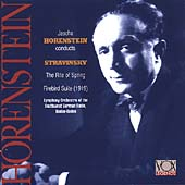 Stravinsky: Rite of Spring, Firebird / Horenstein, et al