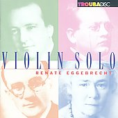 Violin Solo Vol 1 / Renate Eggebrecht