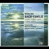 Music of the Bach Family - C.P.E. Bach / Concerto Köln, etc