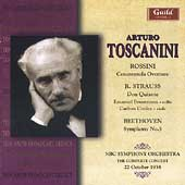 Rossini, R. Strauss, Beethoven / Arturo Toscanini, et al