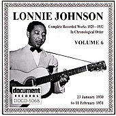 Lonnie Johnson: Complete Recorded Works (1925-1932), Vol. 6: 1930-1931