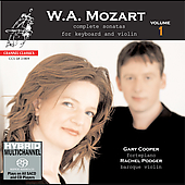 Mozart: Complete Sonatas for Keyboard and Violin Vol 1