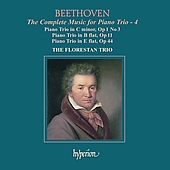 Beethoven: Complete Music for Piano Trio 4 / Florestan Trio