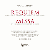 Haydn: Requiem, etc / King, Sampson, Summers, et al