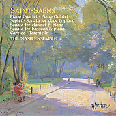Saint-Sa&euml;ns: Piano Quartet, etc / The Nash Ensemble