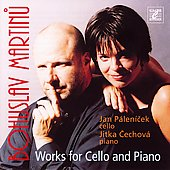 Martinu: Works for Cello and Piano / Pálenícek, Cechova