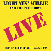 Lightnin' Willie & the Poorboys: Lucky as the Devil