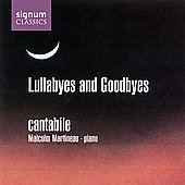 Lullabyes and Goodbyes / Cantabile Vocal Quartet, Martineau