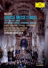 Mozart: Exultate Jubilate; Mass in C Minor / Auger, Von Stade, Bernstein/Berlin PO [DVD]