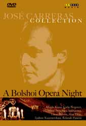 Jose Carreras Collection: A Bolshoi Opera Night / with Alfredo Kraus & Carlo Bergonzi [DVD]