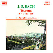 Bach J.s.: Toccatas Bwv 910-916
