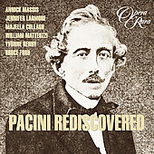 Pacini Rediscovered / Massis, Larmore, Cullagh, et al