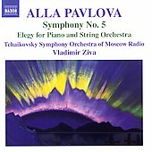 Pavlova: Symphony no 5, Elegy for Piano and String Orchestra
