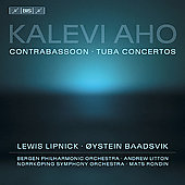 Aho: Concertos / Lipnick. Baadsvik, Rondin, Litton, et al
