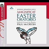 Grand Prix - Bach: Magnificat, Easter Oratorio / McCreesh, Gabrieli Consort and Players