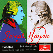 Haydn: Sonatas for Modern Piano and Fortepiano, H 19, 20, 23, 32 & 50 / Eva Mengelkoch