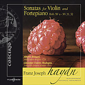 Haydn: Sonatas for Violin and Fortepiano / Bologni, Modugno