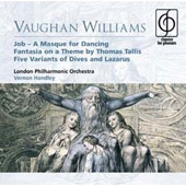 Vaughan Williams: Job; Fantasia on a Theme by Thomas Tallis; Five Variants of Dives and Lazarus
