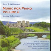 John Williamson: Music for Piano, Vol. 2